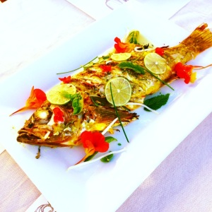 Bali Style, whole fish