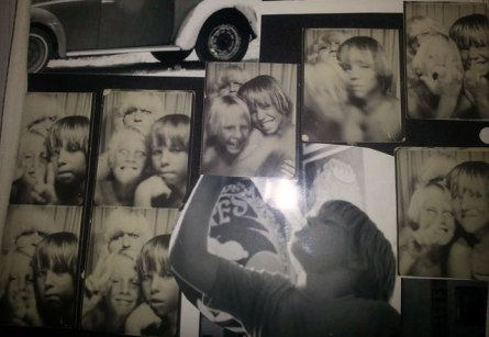 Early days with fellow surf rat, Jay Adams.  Photo Booth fun 1971